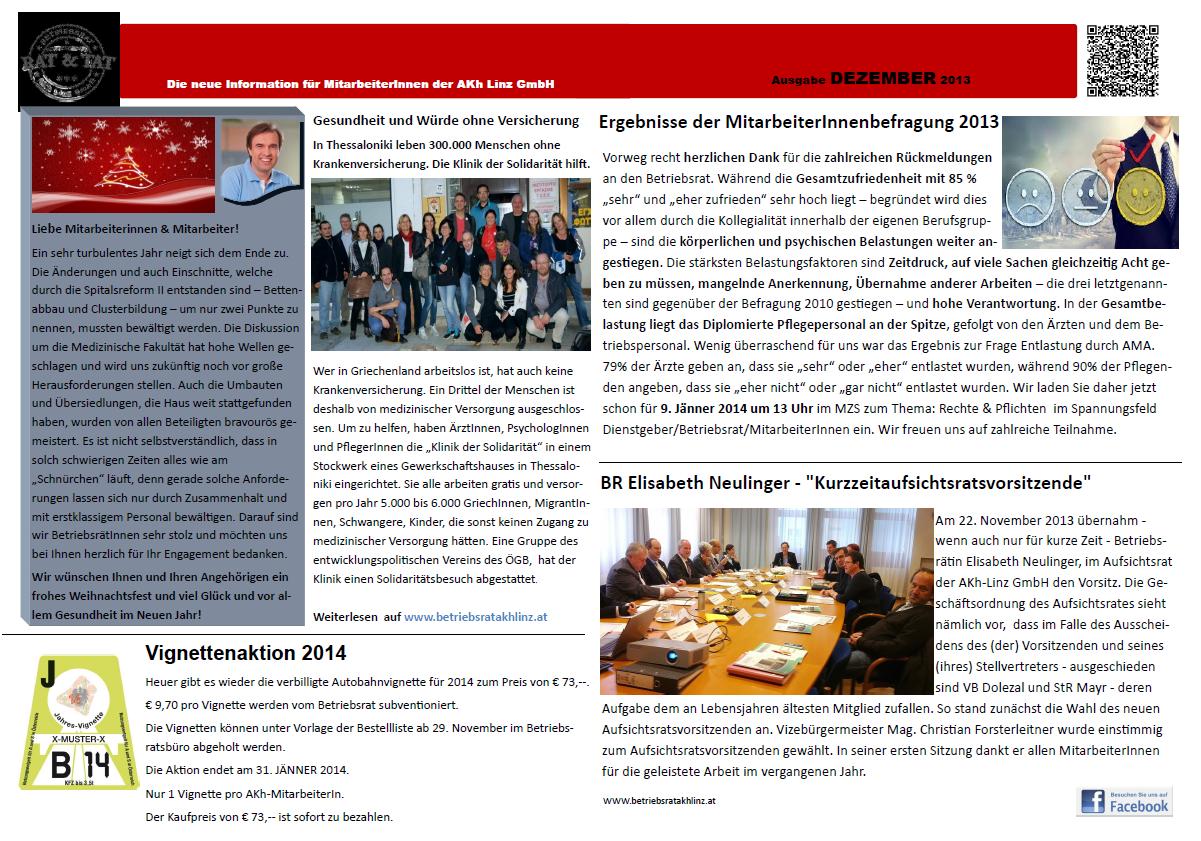 Wandzeitung Dezember 2013a