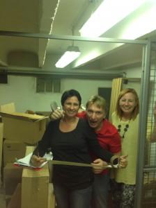 Nina und Andrea - unsere Logistikgenies!